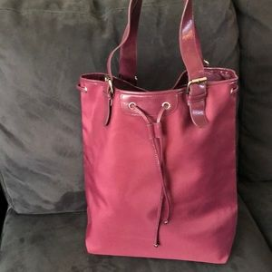 Calvin Klein bucket bag with drawstring top